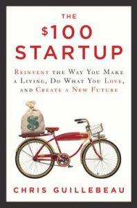 Bücher Empfehlung100 USD Startup Guillebeau Tech Startup School