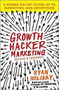 Bücher Empfehlung Growth Hacker Marketing Ryan Holiday Tech Startup School