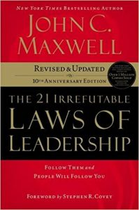 Laws of Leadership Maxwell Tech Startup School