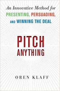Bücher Empfehlung Pitch Anything Klaff Tech Startup School